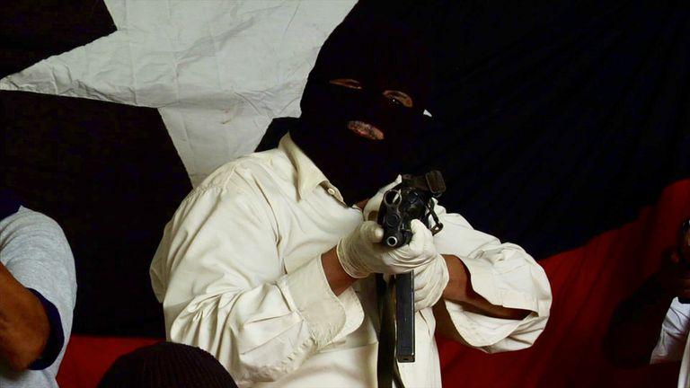 Un fotograma del documental 'Tupamaro: guerrillas urbanas'.