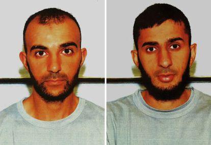 Los hermanos Mohommod, izquierda, y Hamza Nawaz.