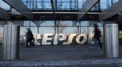 Imagen de la sede de Repsol en Madrid.