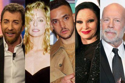 Pablo Motos, Farrah Fawcett, C. Tangana, Alaska y Bruce Willis. Todos, involucrados en entrevistas correosos.