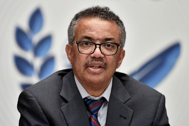 Tedros Adhanom Ghebreyesus, director general de la Organización Mundial de la Salud (OMS).