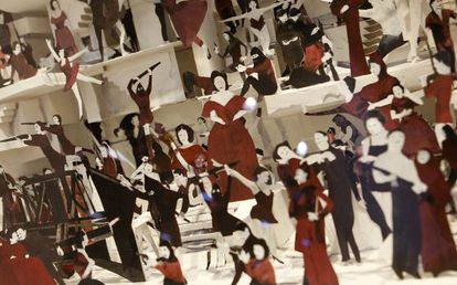 Una obra del canadiense Marcel Dzama en ARCO.