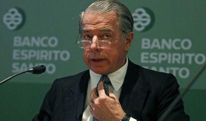 Ricardo Salgado, expresidente de Banco Espírito Santo
