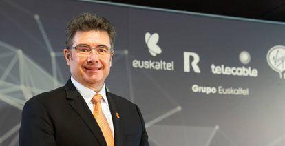 José Miguel García Hernández, consejero delegado de Euskaltel.