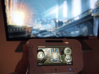 El mando de la consola Wii U de Nintendo.