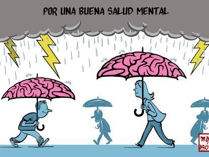 Una buena salud mental, según Malagón