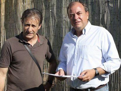 PEdro Escobar (i) y José Antonio Monago (d), en una imagen de archivo.