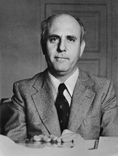 Manuel Calvo Hernando, en 1982.