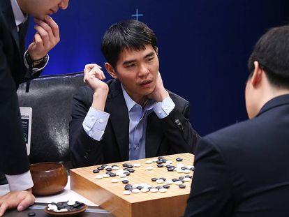Lee Sedol durante su enfrentamiento con el algoritmo Alpha Go