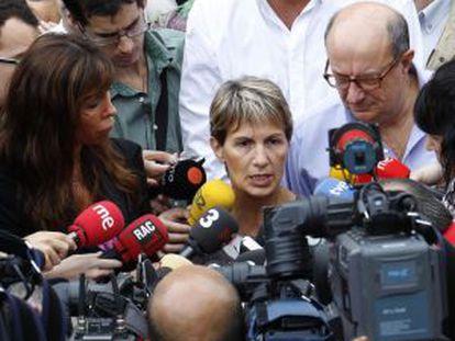 Xavier García Albiol y Alicia Sánchez Camacho junto a la eurodiputada Maria Therese Sánchez Schmid en 2010 tras una visita para denunciar el incivismo de los ciudadanos gitanos rumanos