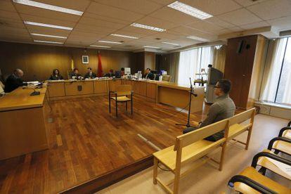 """Juicio contra Alfonso Fernández Ortega """"Alfón"""", ayer en la Audiencia Provincial de Madrid"""