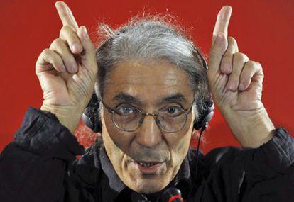 El escritor argelino Boualem Sansal.