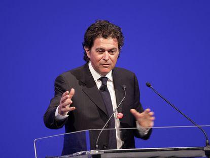 El profesor Alberto Alesina durante una intervención en un foro en Roma, el 11 de marzo de 2009.