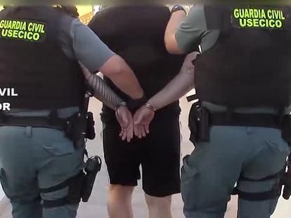 Uno de los detenidos en la operación Pertinax, en la que se investiga a un DJ de Ibiza por liderar una red de tráfico de drogas de diseño.