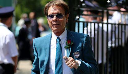 Cliff Richard, en el campeonato de Wimbledon.