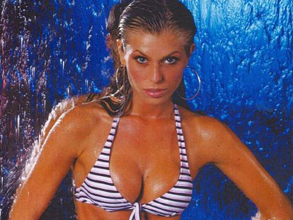La modelo brasileña Caroline Bittencourt.