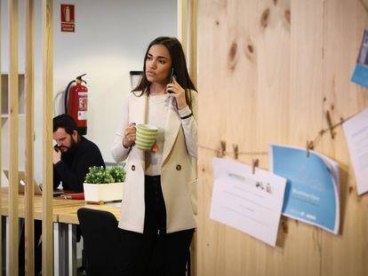 El espacio de 'coworking' The Garden Space, en Madrid.