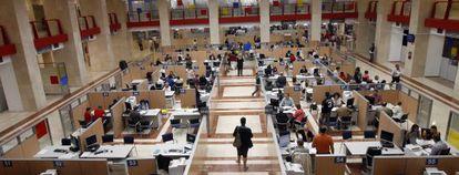 Delegación de la Agencia Tributaria en Madrid.