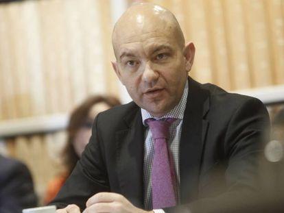 Jaime García-Legaz, presidente de Aena, en una foto de archivo.