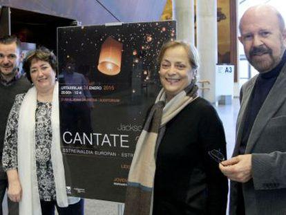 Presentación de la 'Cantate 200' este lunes en Bilbao.