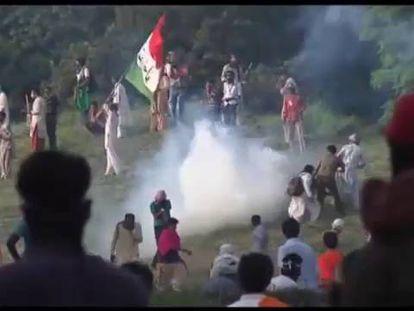 Semana de protestas antigubernamentales en Pakistán.