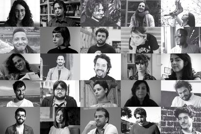 Authors selected by the literary magazine 'Granta' as the best narrators in Spanish.