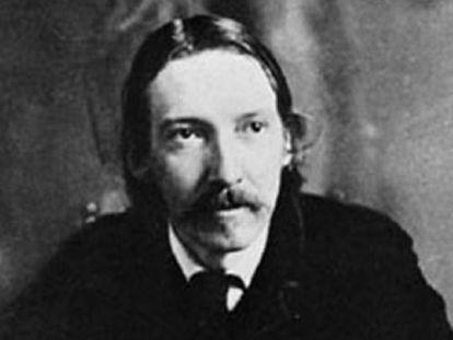El novelista Robert Louis Stevenson (1850-1894).