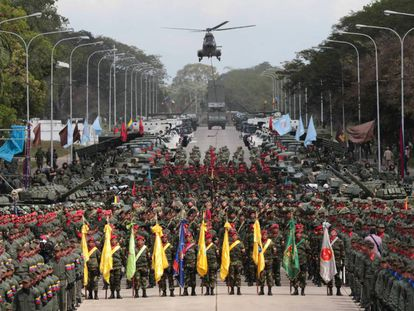 Acto de salutación de fin de año de la Fuerza Armada Nacional Bolivariana, el 28 de diciembre de 2016