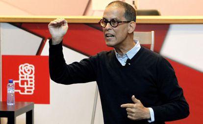El presidente del PSM, Pedro Zerolo, el pasado 11 de enero.