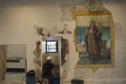 La rehabilitación del convento de Santa Clara,