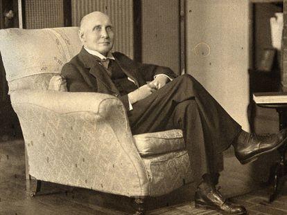El filósofo y matemático Alfred North Whitehead.