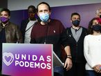 During election night of Unidas Podemos for the Madrid Autonomic Elections in Madrid on a Tuesday 05 May 20121