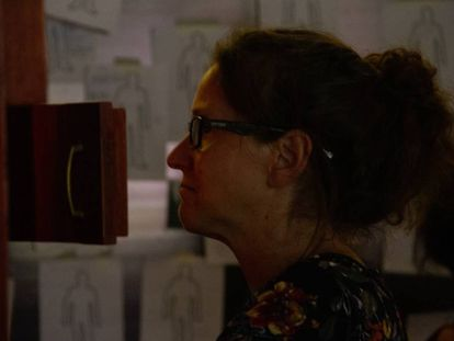 Visita guiada a la muestra 'La gorda Silvia, mi abuela'.