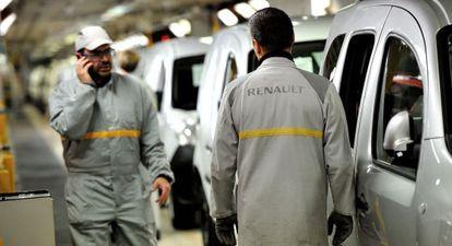 Una plan de Renault al norte de Francia