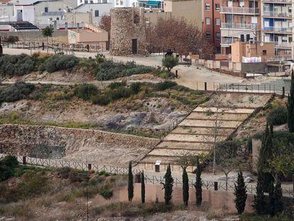 Parque Arqueológico de El Molinete, en Cartagena.