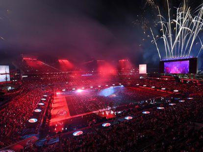 El espectáculo de The Weeknd en el medio tiempo de la Super Bowl, este domingo.