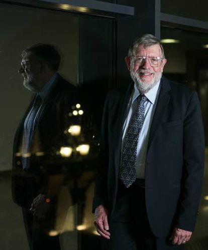 William Phillips, retratado antes de la entrevista en Barcelona.