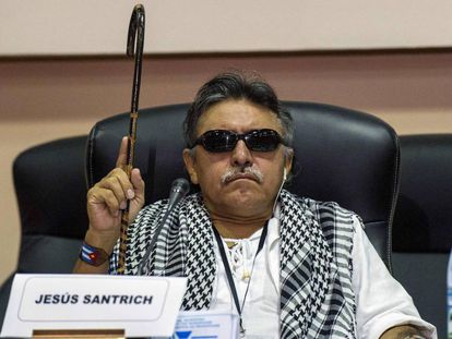 Jesús Santrich, excomandante de las FARC.