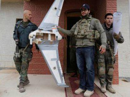 El Ejército equipará con un  escudo electrónico  contra aeronaves no tripuladas a la base de Besmayah