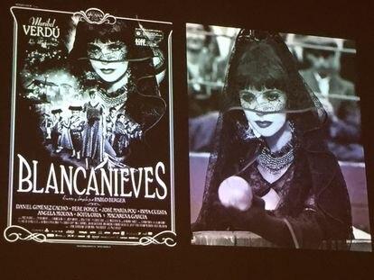 Cartel de la película 'Blancanieves'.