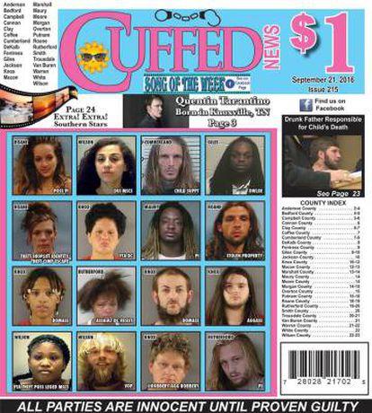 La portada de 'Cuffed News'