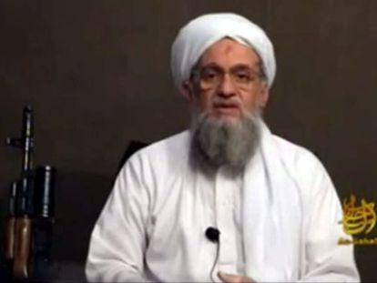 El líder de Al Qaeda, Ayman al-Zawahiri.