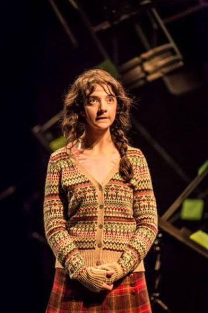 La actriz Patsy Ferran en 'As you like it'.