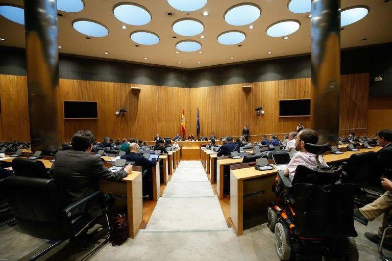 Sesión constitutiva de la Comisión para la Reconstrucción Social y Económica de España tras el coronavirus, el pasado mayo.