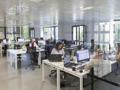 Siete de cada diez trabajadores de Webhelp son extranjeros que residen temporalmente en España.