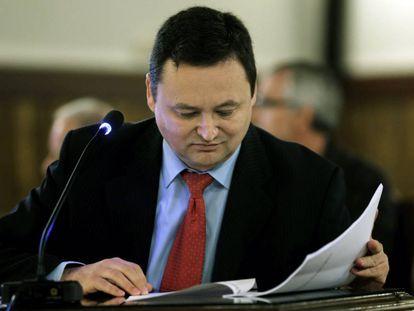 Augusto César Taruni en el Tribunal Superior de la Comunidad Valenciana.