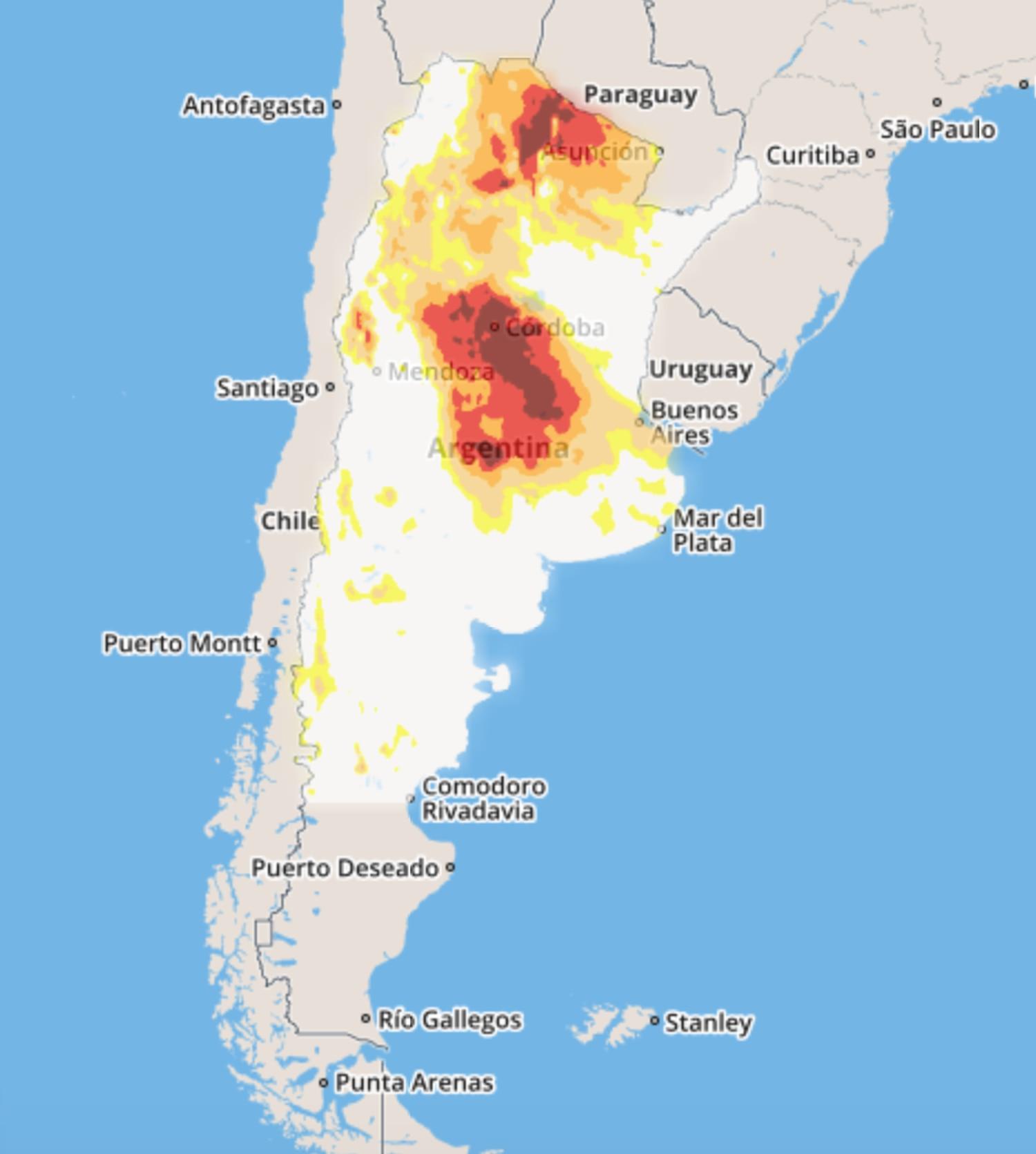 Los incendios asfixian el centro y norte de Argentina XCCQTIW6FRHRJC5CSPBEUJ54YU