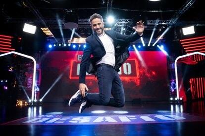 Roberto Leal, en el plató de 'El desafío', de Antena 3