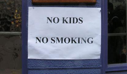 Algunos padres eligen hoteles sin niños cuando quieren desconectar.