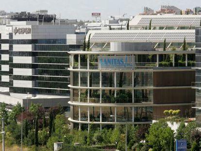 Edificio de Sanitas en Madrid.